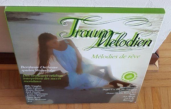 TRAUM-MELODIEN Vinyl-LP-Box 3 LPs Schallplatten