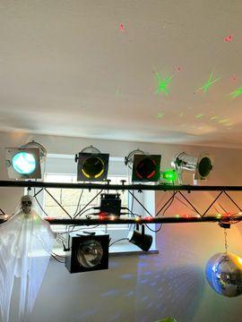 DJ, Disco (Equipment) - Wochenende- Sonderpreis Lichtanlage mit Traverse