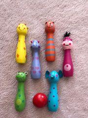 Holz Spielfiguren Greiflinge