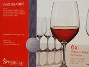 Rotwein- Gläser SPIEGELAU spülmaschinenfest
