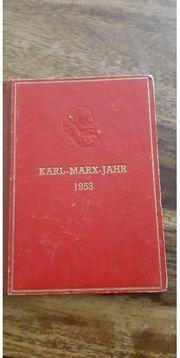 Karl Marx Briefmarken Buch