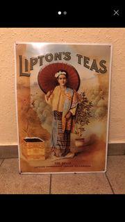 Blechbild Liptons Teas extra Bild