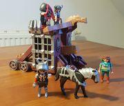 Playmobil Riesenschleuder mit Gefangenenzelle 4837