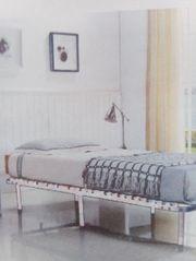 Futonbett neu mit Matratze siehe