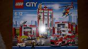 LegoCity grosse Feuerwehrstation 6110 ungeöffnet-