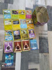 Pokemon Karten und Actigame Karten