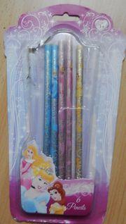 5 Bleistifte NEU nicht angespitzt