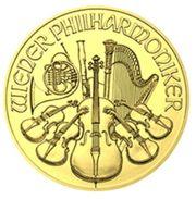 Gold Wiener Philharmoniker 1 Oz