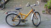 Kinderrad Falter 24 Zoll Orange