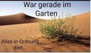 SUCHE in Ilbesheim Garten Feld