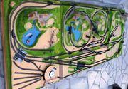 Modelleisenbahn - Fertiggelände aus Nachlass