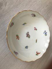 Meissner Porzellan schöner großer Vorlege-Teller