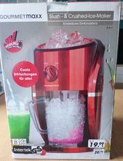 NEUE Gourmetmaxx Slush- Crushed-Ice-Maker