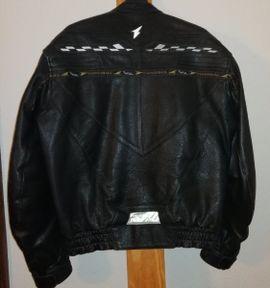 Motorradbekleidung Herren - Hochwertige Biker-Lederjacke Gr42