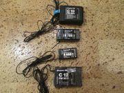 4x Graupner 35 mHz Empfänger