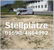 Stellplätze für Wohnwagen Wohnmobil und