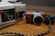 Leica D-LUX 7 Digitalkamera - silber