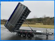 TWIN-TRAILER - TRANSPORTER KIPPER IN 1 -