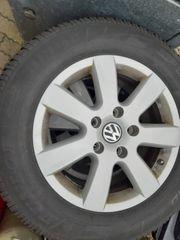 VW Touareg Alu-Felgen mit Winterreifen