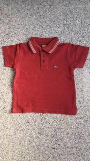 Poloshirt kurzarm rot bordeaux Größe