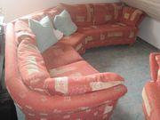 Designer Sofa mit Stuhl