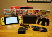 Nintendo switch Konsole mit top