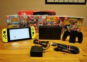 Nintendo switch Konsole mit top