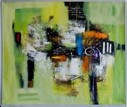Großes neues BALI-Gemälde Komposition in