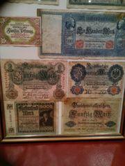 Reichsbanknoten Darlehnskassenschein Markt Berchtesgaden Gutschein