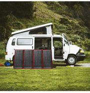 Mobiles 12V Solarpanel Kit für