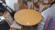 Tisch mit 4 Stühlen - LD05051