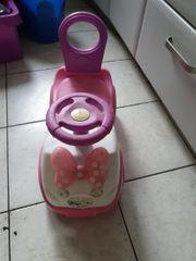Rosa Disney Minnie Mouse Rutschauto