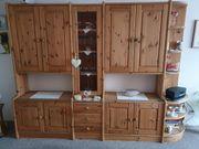 Wohnzimmerschrank Kiefer Massivholz gelaugt geölt