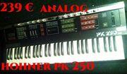 hohner pk 250 analog synthesizer