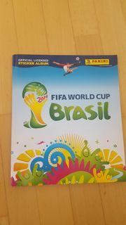Panini Sammelalbum WM 2014 Brasil -