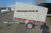 Grosser kippbarer PKW Anhänger 750Kg
