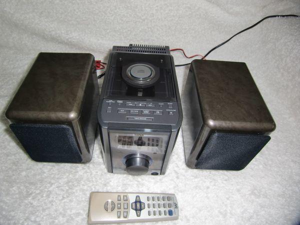 JVC UX - 5500 R Mini-Stereoanlage