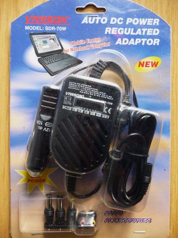 Laptop Stromversorgung für KFZ Auto
