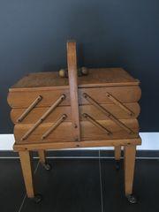 Nähkörbchen aus Holz