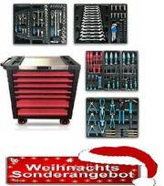 Werkstattwagen mit Werkzeug 6 Schubladen
