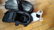 Tankrucksack mit Satteltaschen