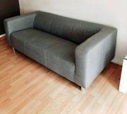 3-Sitzer Couch grau