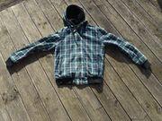 Zara Man Dunkelgrüne Übergangsjacke Größe