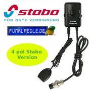 Stabo CB-Freisprechmikrofon VOXMIC100 4pol Stabo