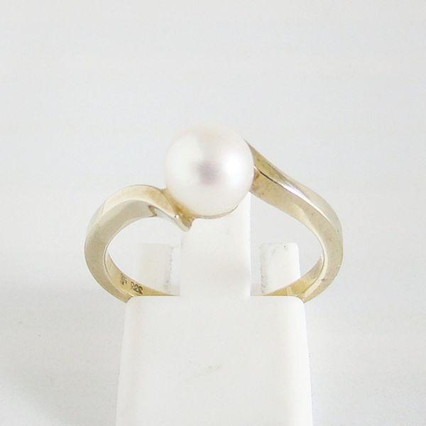 Ring Gold 333er Akoyaperle Perlenschmuck