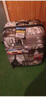 Neuer Koffer mit Motiv