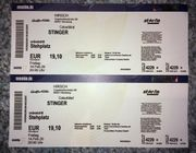 2x Konzertticket STINGER Colourblind Freitag