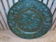 Unikat Schnupfler Schmalzler Bronze-Wand-Relief um