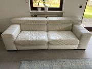 Designer Ledersofa Couch Natuzzi