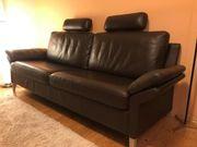 Rolf Benz Designer Leder Couch